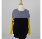 Jaeger Cashmere Jumper Multi-Coloured Size: L