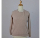 M&S Marks & Spencer Cashmere Jumper Latte Size: 16