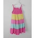 Disney Tierred Sundress Pink Yellow Min Size: 4 - 5 Years
