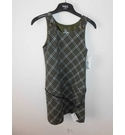 BNWT Zara Pinafore Dress Green Checked Size: 9 - 10 Years