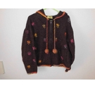 Pachamama Handknit Chunky Cardi/Jacket Brown Size: 11 - 12 Years