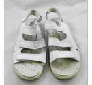 Ecco leather sandals white Size: 7