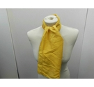 Ladies Yellow Silk Scarf