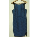 New Look dress dark blue Size: 10