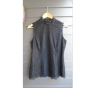Clements Ribeiro Lace sleeveless top Black Size: M