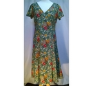 East Floral Dress Multi Size: 10