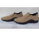 Cotton Traders Suede slip-on comfort shoes Brown Tan Size: 4
