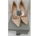 Coast Lace Pattern Court Shoe Pink Size: 4