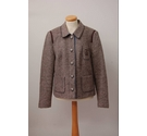 HEINE Casual Country Jacket Brown Size: 14