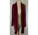 Antthony Casual Light Wieght Jacket Burgundy Size: L