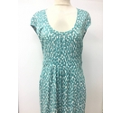Boden Dress Aqua Green Size: 12