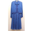 Caroline Charles London dress jacket blue Size: 10