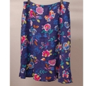 East Floral Skirt Purple Size: 12