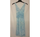 Kaleidoscope Summer Dress Blue & white Size: 8