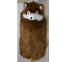 Unbranded Novelty Gilet Brown Size: M