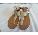Carvela Kurt Geiger Unworn Sandals Gold Size: 5.5