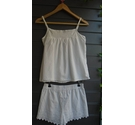 Next Cotton Sleepwear Set Ivory Size: 6