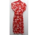 Uttam Boutique dress red Size: 8