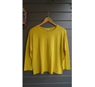 Whistles Lucie Seam Detail Top Yellow Size: S