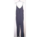 H&M jumpsuit Black/white Size: XL