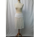 Isabella Oliver Maternity Skirt Cream Size: 10