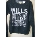 Jack Wills Sweatshirt Blue Size: 6