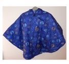 Useful Showerproof Poncho Blue Planets Size: Other