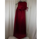 Burgundy Bridesmaid Two Piece