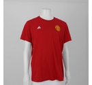 Adidas Manchester United T-Shirt Red Size: XS