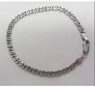 Sterling Silver 925 Curb Chain Bracelet
