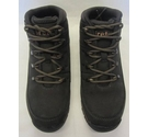 Firetrap Leather Walking Boots Charcoal Grey Size: 3