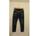 AK fashion Jeans straight fit jeans denim Size: XS