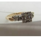 14ct Gold and Diamond Solitaire Ring