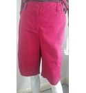 Northern Reflections cotton shorts Plum Size: 12