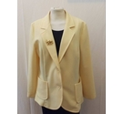 Glenayr Kitten Jacket Yellow Size: 14