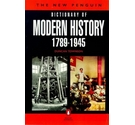 The new Penguin dictionary of modern history, 1789-1945