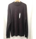 Pronto Uomo Jumper, Purple Size: XXXL