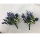 Thistle Corsage for Highland Dress - Pair
