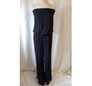 next Bandeau Jumpsuit Black Size: 8