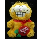 1980s Garfield 'Mistletoe Casanova' soft toy