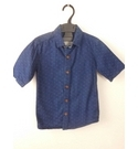 Jasper Conran Short Sleeved Shirt Blue Size: 7 - 8 Years