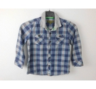 Baker by Ted Baker Long Sleeved Checked Shirt Blue Size: 4 - 5 Years