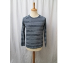Jack Wills Long-sleeved top blue and white Size: S