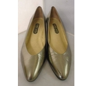 Roland Cartier Vintage Court Shoes Gold Size: 8