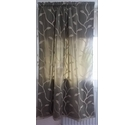 "NWOT Unbranded Jaquard Panel Curtains Green/Gold - 48"" x 54"""