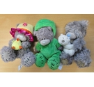 Three Me to You bears - limited edition frog costume, Easter bear and cuddling small bear bear