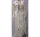 Yvonne Gillon occasion skirt and coat cream Size: S