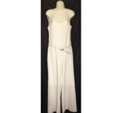 Next Jumpsuit Cream Size: 12