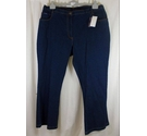 Union Blues Straight Leg Jeans Blue Size: 42""