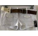 BNWT Jane Norman Hot Pants White Size: M
